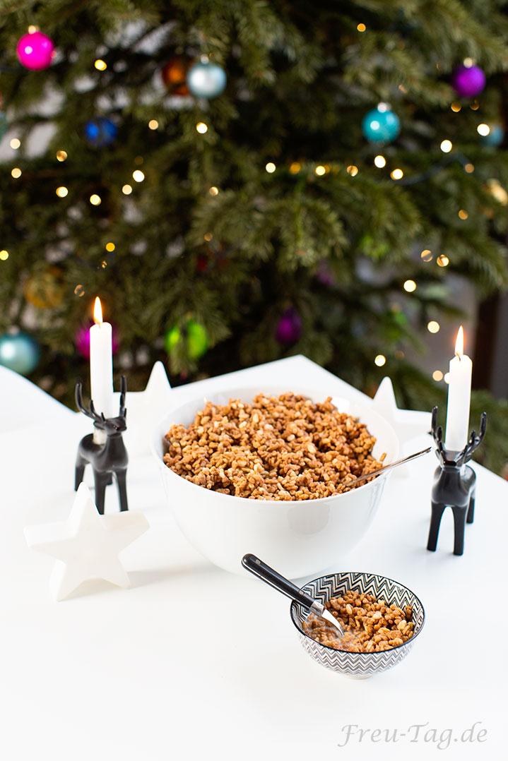 Knusper Frühstück zu Weihnachten