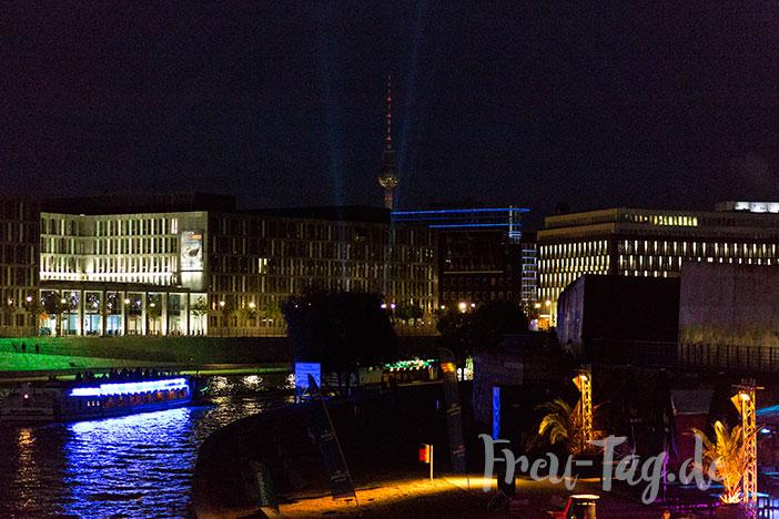 Berlin Kanal bei Nacht
